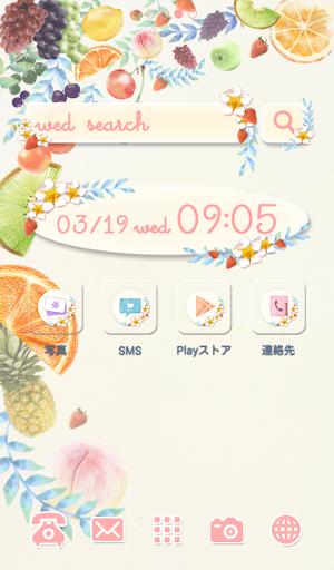 可愛換裝桌布★Colorful fruit