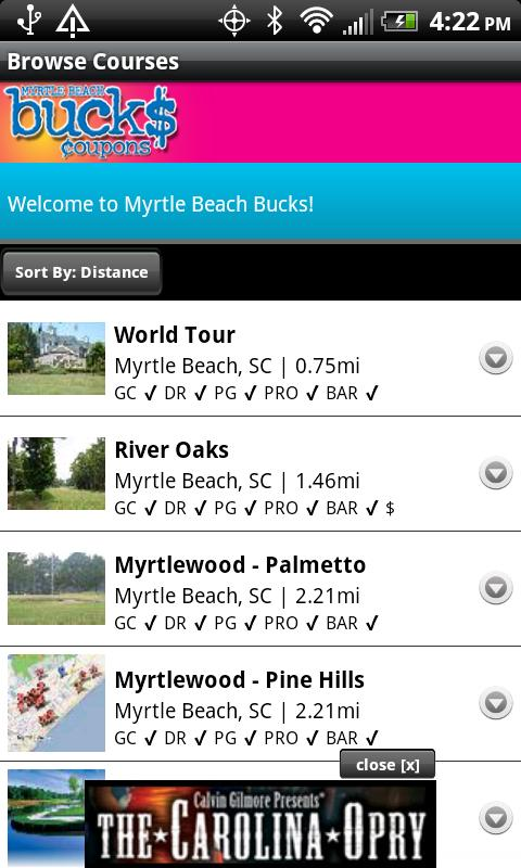Myrtle Beach Bucks- screenshot