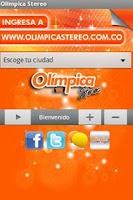 Screenshot of Olimpica Stereo