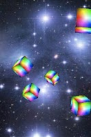 Screenshot of Live Wall: Flying Cubes!(Free)