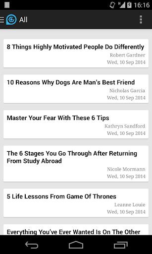Lifehack RSS