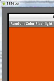 Random Color Flashlight - screenshot thumbnail