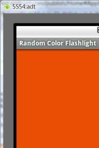 Random Color Flashlight - screenshot
