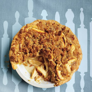 Apple-Sour Cream Crumb Pie.