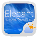 Elegant Weather Widget Theme
