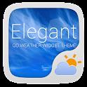 Elegant Weather Widget Theme