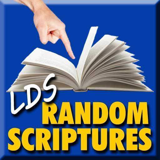 Random LDS Scriptures LOGO-APP點子