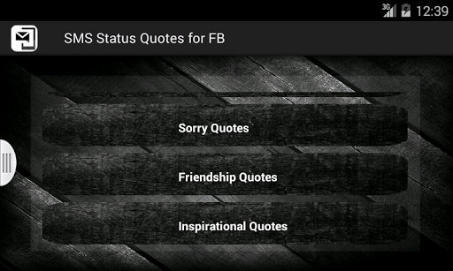SMS Status Quotes for FB