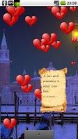 Screenshot of Be My Valentine Live Wallpaper