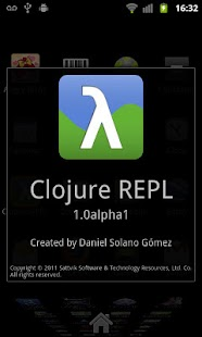 Clojure REPL - screenshot thumbnail