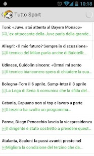 Calcio News - screenshot thumbnail
