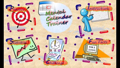 Mental Calendar Trainer