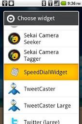 SpeedDialWidget