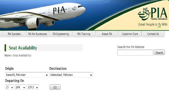 PIA Schedule- screenshot thumbnail