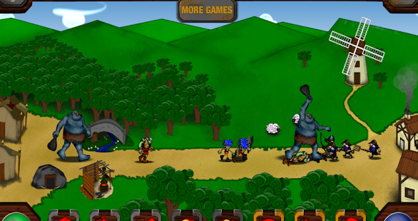 Pesky Humans 2D strategy game- screenshot thumbnail