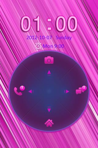 Pink Go Locker Theme