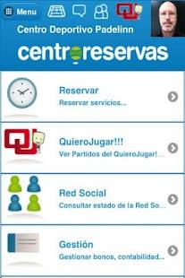 Centro Reservas- screenshot thumbnail