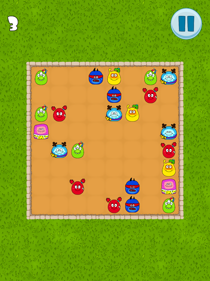 Swash! - Fun aliens puzzle- screenshot