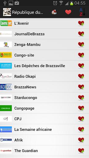 刚果共和国的报纸和新闻