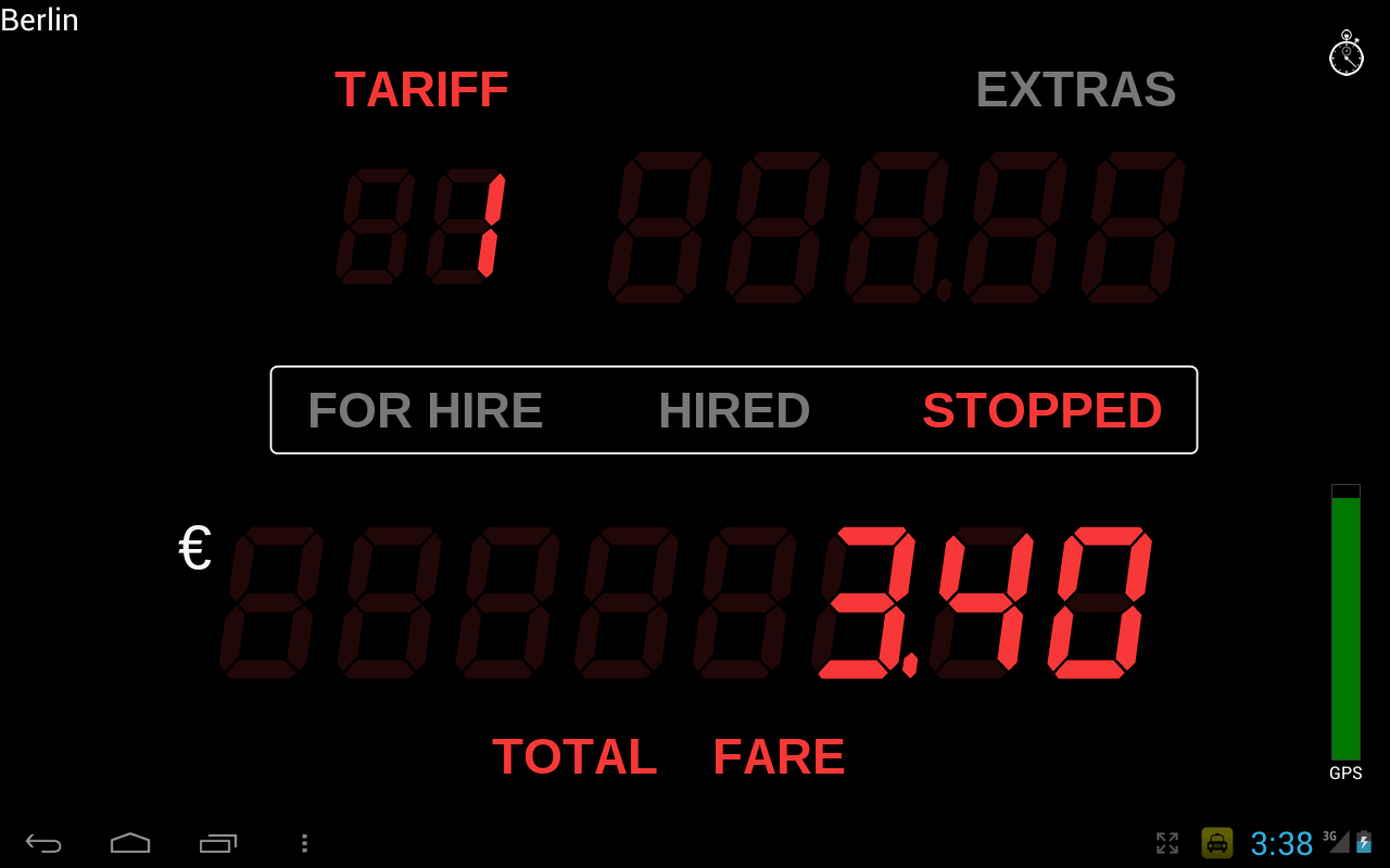 Taximeter - screenshot