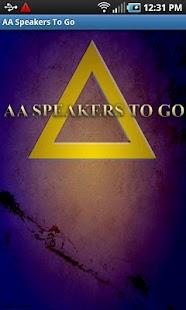 AA Speakers To Go (Alcoholics) Screenshot 1