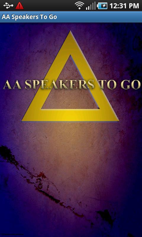 AA Speakers To Go (Alcoholics)- screenshot