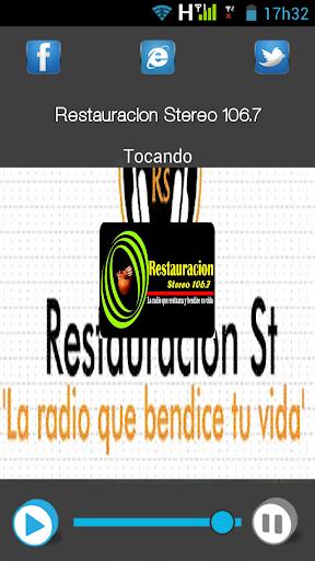 Restauración Stereo 106.7