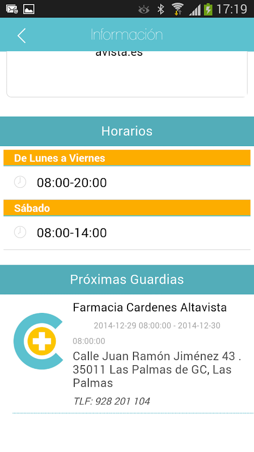 FarmaCárdenes- screenshot
