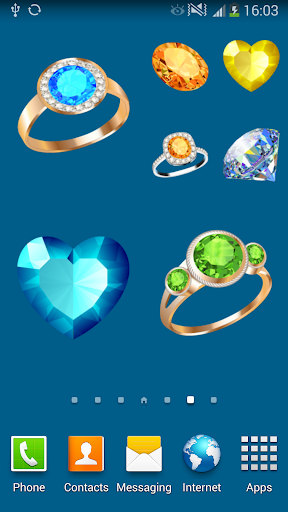 100 Jewel stickers