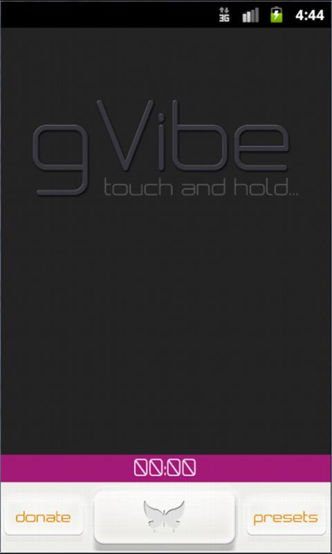 gVibe - screenshot