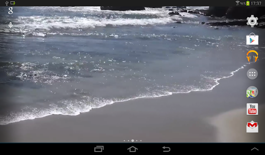 Beach Real Live Wallpaper- screenshot thumbnail