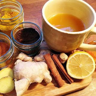 Homemade Flu-fighting Tea.