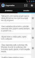 Screenshot of Zagonetke