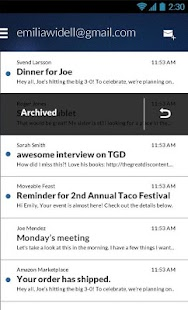 Email App for Gmail & Exchange Screenshot 2