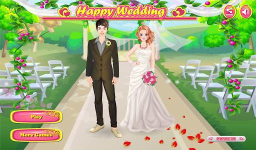 愉快的婚礼 -女孩小游戏