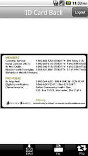 FCHP Member ID Card - screenshot thumbnail