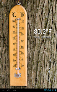 Thermometer (+ Status Bar) - screenshot thumbnail