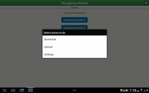 【免費商業App】Occupancy Survey-APP點子