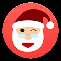 Tell me, Santa Claus Christmas icon
