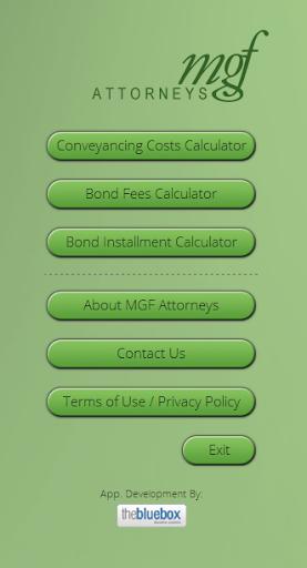 MGF Attorneys Bond Calculator