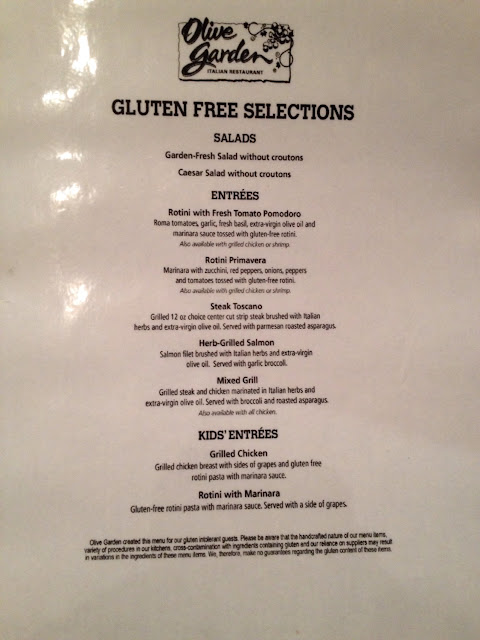 Gf menu olive garden at 4117 chesapeake square blvd - Gluten free menu at olive garden ...