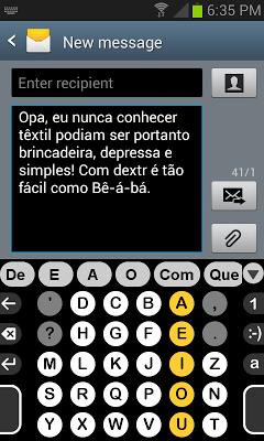 Brasileira dicionário de Dextr - screenshot