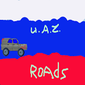 Russian UAZ route icon