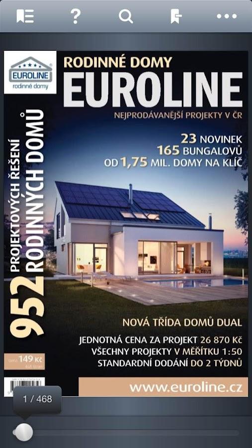 Rodinné domy Euroline 952 CZ- screenshot