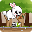 Cuddly Rabbit Carrot Collector icon
