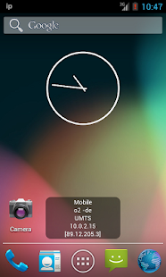 IP Widget - screenshot thumbnail