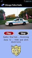 Screenshot of Chicago Police Radio