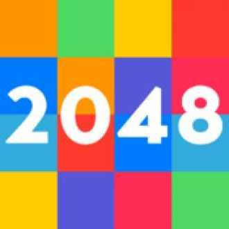 2048 Tile Number Swipe Puzzle