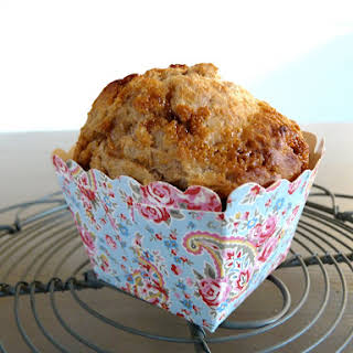 Wholewheat and Raspberry Muffins.