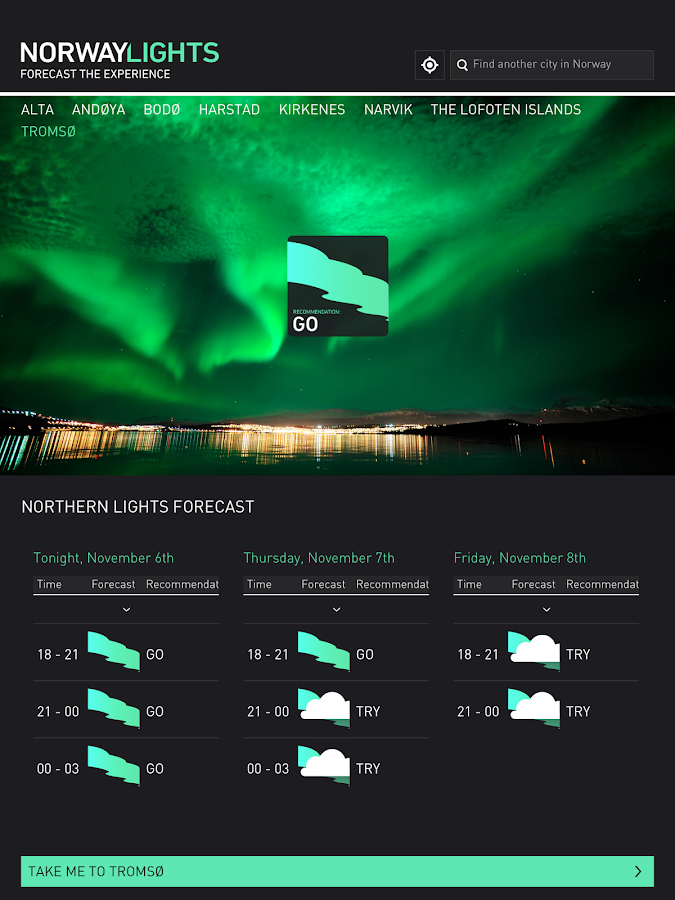 Norway Lights- screenshot